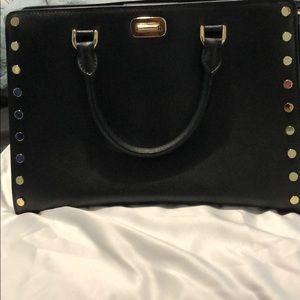 Michael Kors Sylvie Studded Satchel Bag